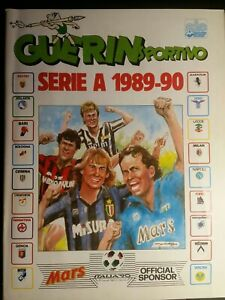 Guerin Sportivo - Serie A 1989 - 90 - Album incompleto