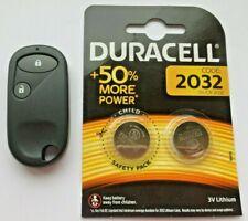 Fits Honda Civic CRV Jazz 2 Button Remote Key Fob Case & 2 x Duracell Batteries