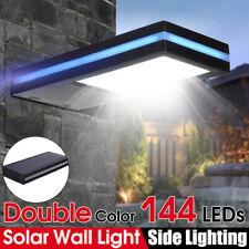 144 LED Solar Power Motion Sensor Garden Security Lamp Outdoor Waterproof