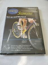 Kinetic Spinervals Set-Up and Workout Original Indoor Cycling Dvd New