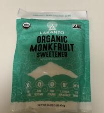 Lakanto, Organic Monkfruit Sweetener, 16 oz (454 g)
