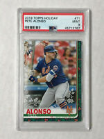 PETE ALONSO 2019 Topps Holiday SP RC #HW71! PSA MINT 9! METS! CHECK MY ITEMS!