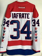 Reebok Premier NHL Jersey Washington Capitals Al Iafrate White sz 2X