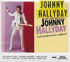 """JOHNNY HALLYDAY ALBUM 2 CD """"TOUT SIMPLEMENT LE MEILLEURT**NEUF SOUS BLISTER"""
