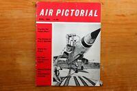 Vtg Original Air Pictorial Magazine 1960 April The ME-109 Story part 1