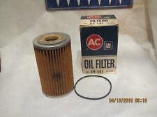 GM AC DELCO VINTAGE NOS OIL FILTER  PF 141