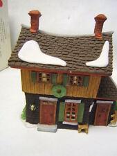 "Dept 56 New England Village Sleepy Hollow ""Ichabod Crane's cottage"" Mib"