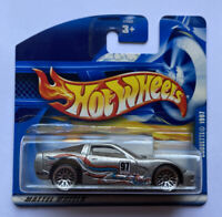 2001 Hotwheels 1997 Chevy Corvette C5 V8 Silver! Mint! Very Rare!