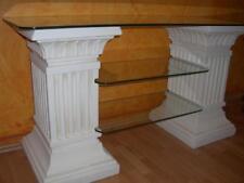 TV Rack Regal Hifi Phono Fernseh Tisch Griechisches Säulenregal Sideboard Antik