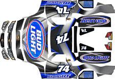 Losi 5ive T BUDD LIGHT Theme  body wrap decals stickers  BIG FLEX ROVAN