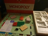 Original Monopoly Board Game Ref#402 From The 1970's