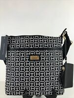 Tommy Hilfiger Designer Bag Black/White Adjustable Shoulder Strap NWT Free Sh