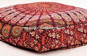 Paon Mandala Chat Lit Animaux de Compagnie Indien Grand Chien Ethnique Coussin