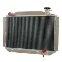 4 Row Aluminum Radiator For Chevy Corvette 4.3L 4.6L V8 1955-1960 56 57 58 59