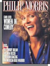 Philip Morris Magazine - 1990, March - Carol Leifer on Women in Comedy!