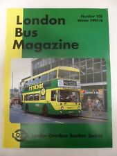 London Bus Magazine - Winter 1997/1998 # 102 - Contents shown in photographs