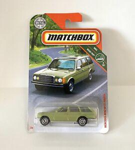 MATCHBOX MBX ROAD TRIP 9/20 MERCEDES-BENZ W123 WAGON GREEN