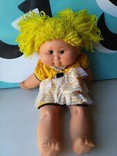 "B. B. Baby Dream Doll Made In Spain Eyes Close 19"" Yellow Hair"