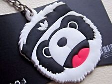 RARE GENUINE ORIGINALS ADIDAS JERMEY SCOTT PANDA BEAR KEYCHAIN KEY CHAIN