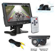 """Kit per la retromarcia Monitor 7"""" e Telecamera auto con 1 sensore di parcheggio"""