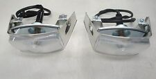 1956 56 FORD  TRUCK PARK LIGHT ASSEMBLY  STAINLESS  NEW