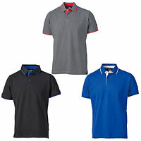 Dickies 22 Anvil Polo Shirt DT2000 Mens Two Tone Work T-Shirt