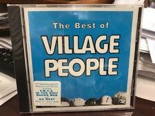 The Village People BEST OF CD 1994 Casablanca 3145220392 HYPE STICKER SEALED