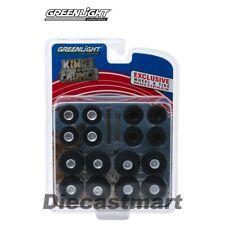 Greenlight 1:64 King Crunch Monster Truck Wheels & Tire Pack 13169 Accessories