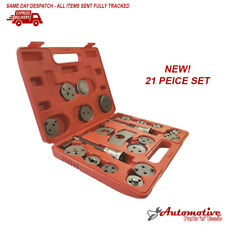 21pc VW Audi Left & Right Thread Brake Caliper Piston Return Wind Back Tool Kit