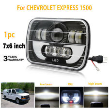 7X6 5x7'' LED Headlights H/L Beam for Chevy Express Cargo Van 1500 2500 3500 1pc