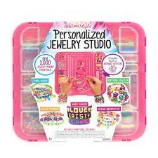Jewelry Making Kit Toy Play Set Girls Craft Beads Charms Bracelets Maker
