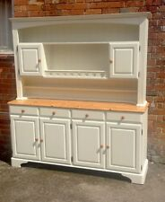 Beautiful Large Ducal Pine Dresser Restored And Painted In Farrow And Ball
