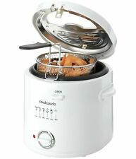 Cookworks 1.5L Deep Fat Fryer Family Favourites With This Cookworks Deep White