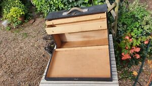 Nice Old Dovetailed Wooden Carpenters Toolbox Box