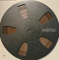 "Revox Reel to Reel Recording Tape (Scotch 207), 5 Window Plastic Reel, 10"" Reel,"