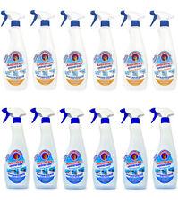 12 Spray Anticalcare Universale Chanteclair Aceto Bianco e Antigoccia superfici