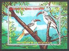 Oiseaux Guinée Equatoriale (52) bloc oblitéré