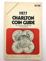 1977 Charlton Coin Guide Canadian US Coins and Bills Great Britain Canada T355