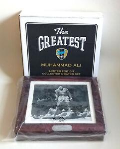 Muhammad Ali - Original Uhren-Set Limitiere Auflage Nr. 6395/7500 - Ungeöffnet
