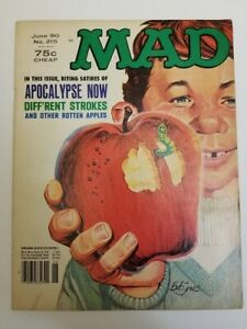 MAD Magazine Issue No.215 (Vintage 1980)