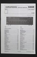 GRUNDIG Receiver R 303 Original Service-Manual/Anleitung/Schaltplan/Diagram