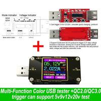 Type-C Tester Wireless Bluetooth DC Digital Voltmeter Current Voltage Detection