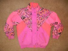 Vtg PACIFIC TRAIL Bright Neon Pink SKI JACKET Snow Board Coat Women's SIZE 12