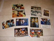 SERIE de 9 PHOTOS et 2 CARTES POSTALES de José ALVAREZ + CHAMPIONS ou POLITIQUES