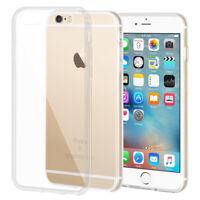 iPhone 6 6S 8 7 Plus X Case Soft Silicone Clear Transparent Slim Gel TPU Rubber