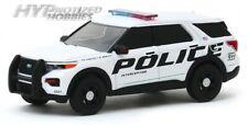 GREENLIGHT 1:64 2020 FORD POLICE INTERCEPTOR UTILITY SHOW VEHICLE 42910-F