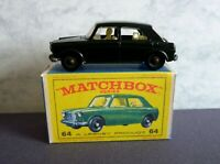 Matchbox Lesney No.64b MG 1100 painted Connaught Green and Box