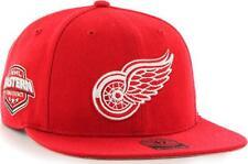 Cuarenta Siete 47 Brand Detroit Red Wings NHL Sure Shot Capitán Gorra Snapback