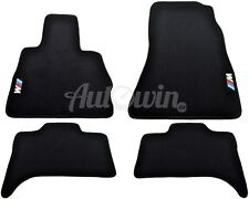 BMW X5 Series E53 Winter Floor Mats With Rubber Background /// M Logo LHD
