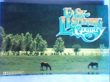 Readers Digest Easy Listening Country Music casssette tapes=4 tapes VGC